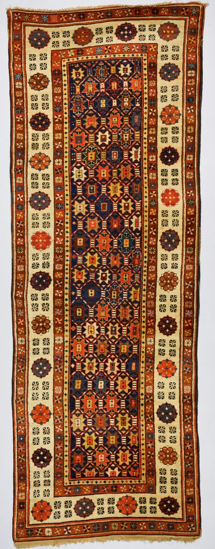 "Lot 370: Vintage Persian Talish runner, 3'2"" x 8'11"""