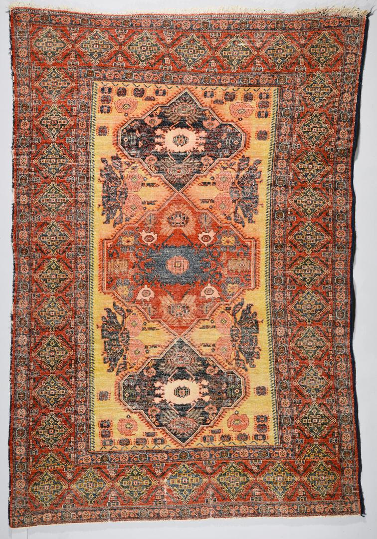 Lot 371 Antique Persian Senneh Area Rug 4 6 Quot X 6 9 Quot