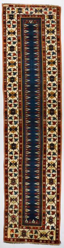 "Lot 372: Antique Persian Talish runner, 2'11"" x 11'9"""