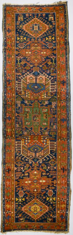 Lot 375: Vintage NW Persian runner, 3' x 10'1""