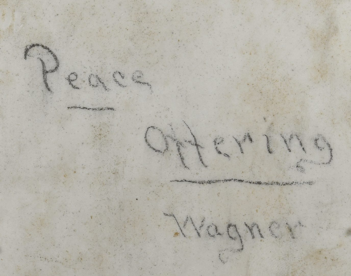 Lot 391: KPM Plaque, Peace Offering, Signed Wagner
