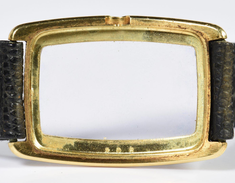 Lot 394: Tiffany 18K Baume & Mercier Watch