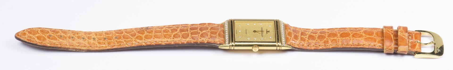 Lot 395: 18K Jaeger-LeCoultre Reverso Quartz Watch