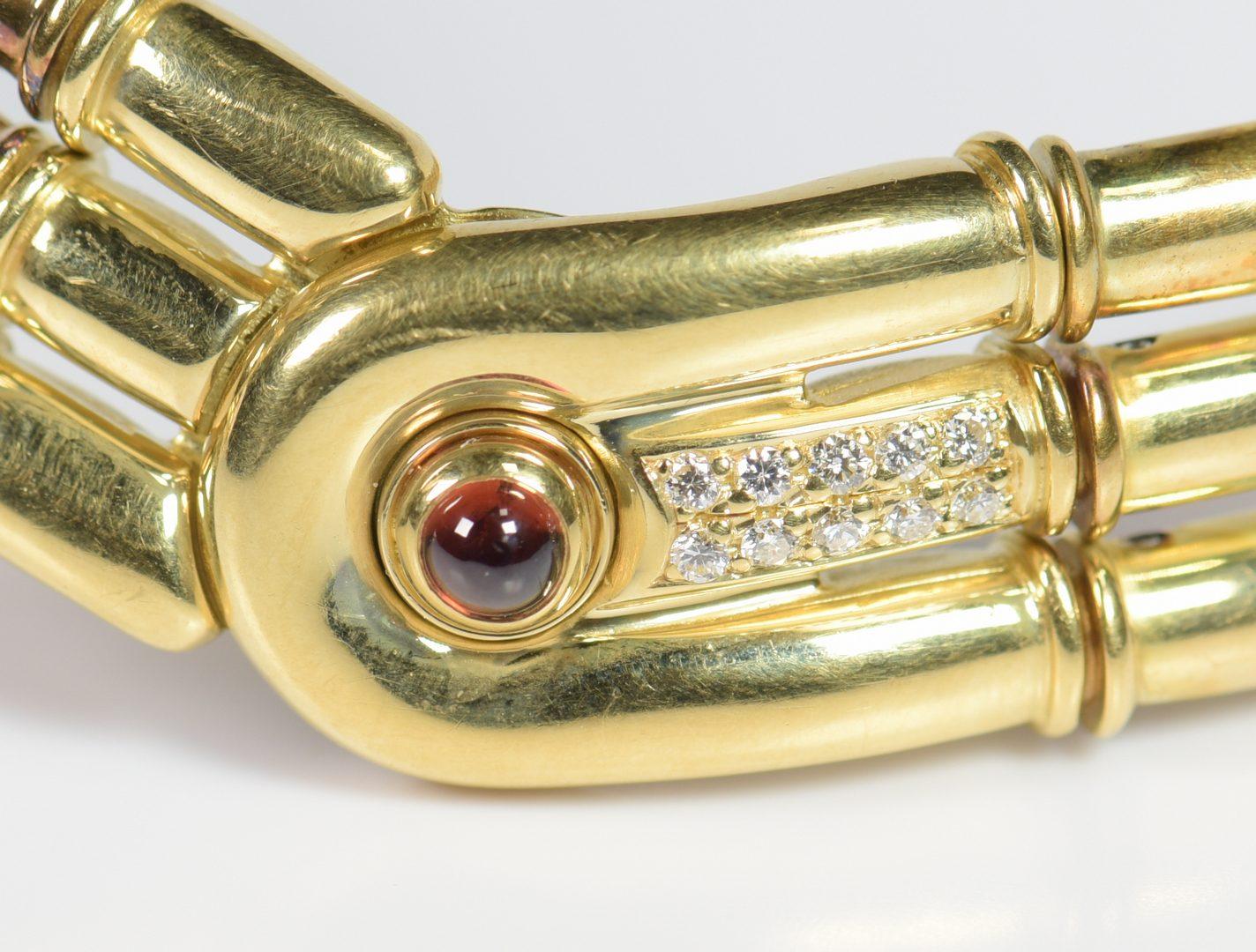 Lot 402: Di Modolo 18K Ring and Bracelet Set