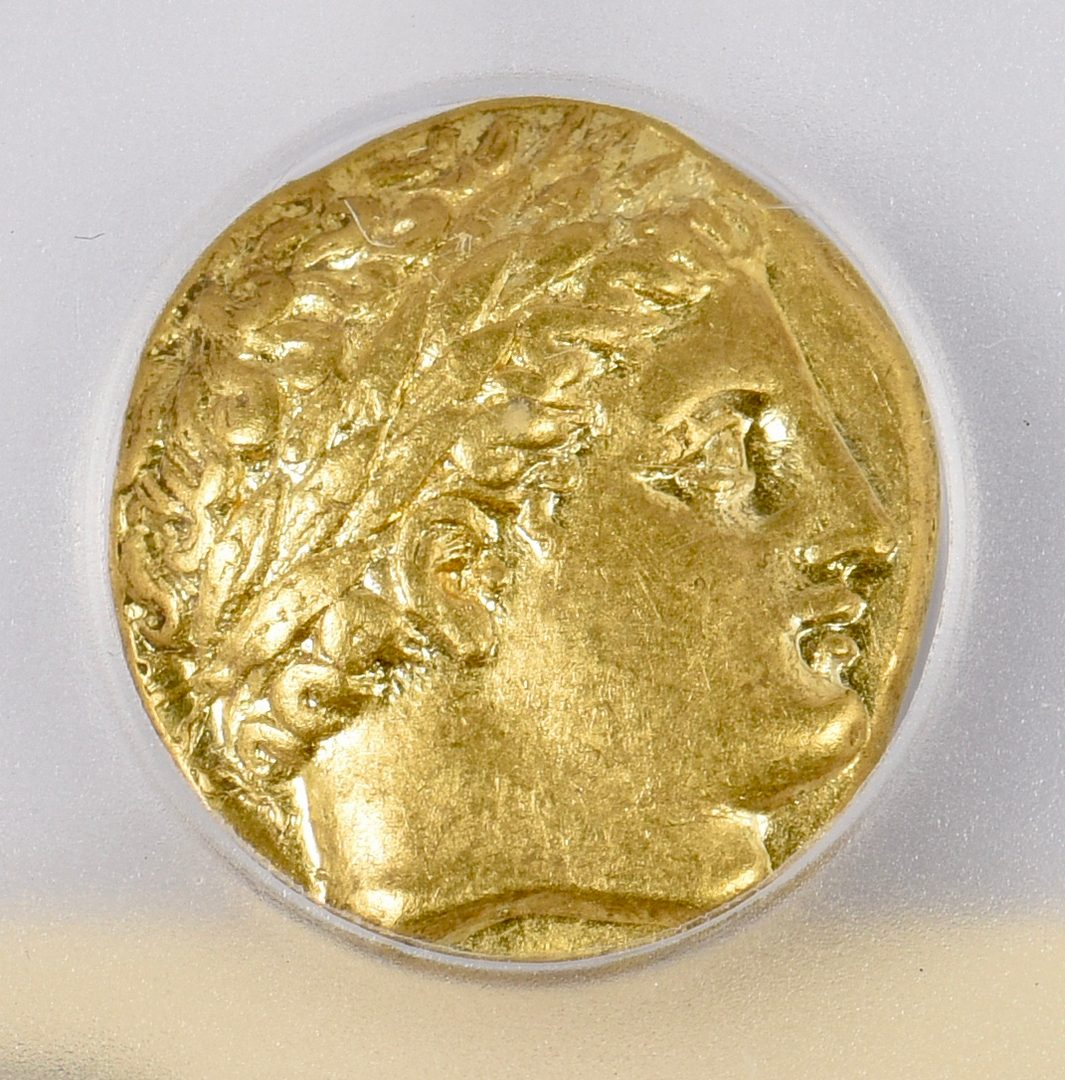 Lot 425: Philip II AV Stater, Pella Mint