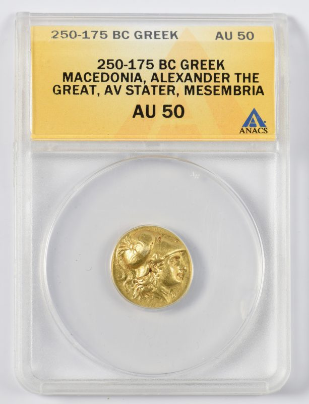 Lot 426: Alexander the Great AV Stater Coin, Mesembria Mint