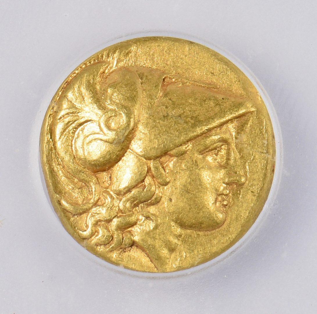 Lot 427: Alexander the Great AV Stater coin, Alexandria Mint
