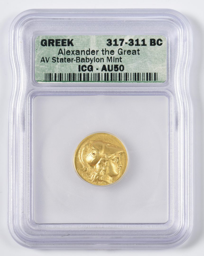 Lot 429: Alexander the Great AV Stater, Babylon Mint