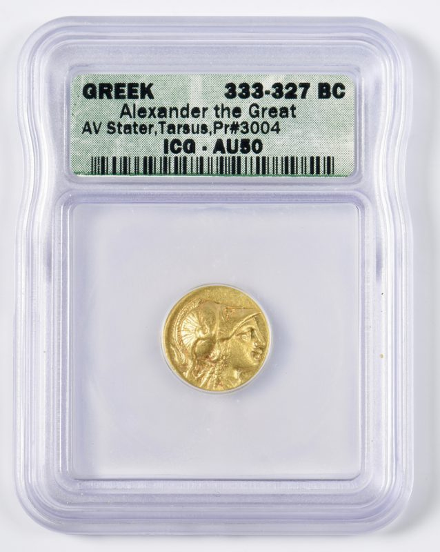 Lot 435: Alexander the Great AV Stater, Tarsus Mint