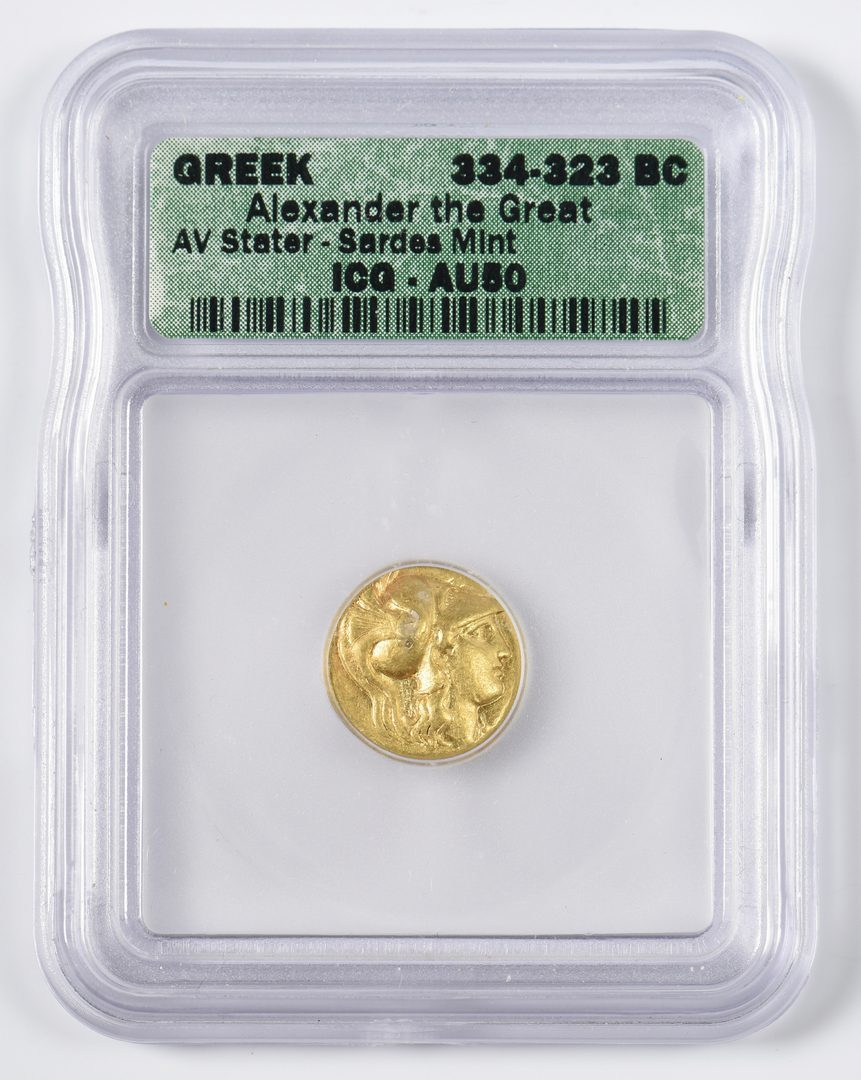 Lot 436: Alexander the Great AV Stater, Sardes Mint