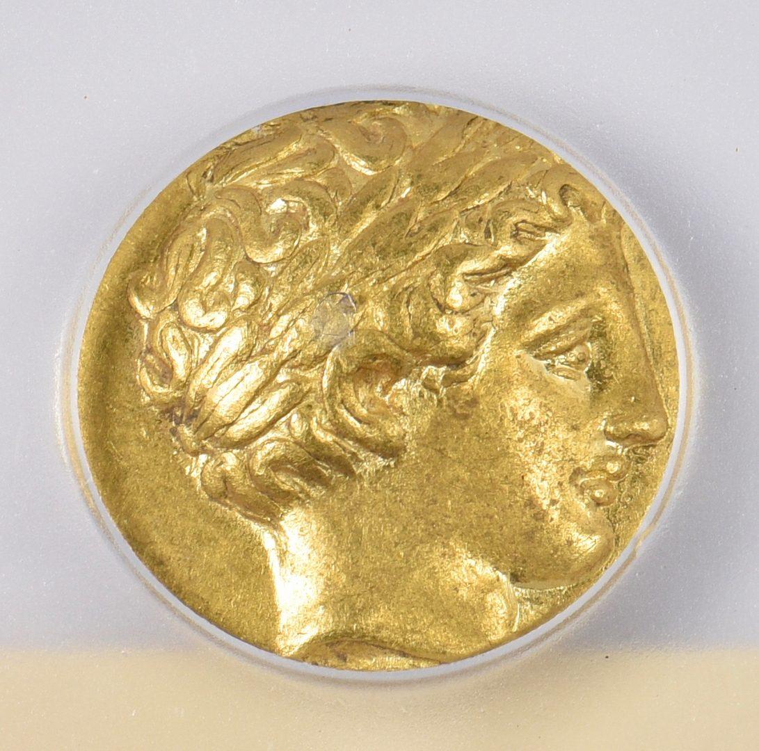 Lot 437: Philip II AV Stater, Pella Mint
