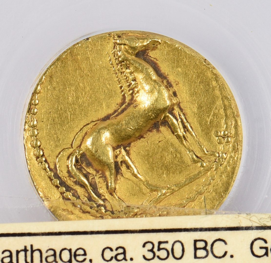 Lot 440: Carthage Gold AV Stater, Zeugitana, North Africa