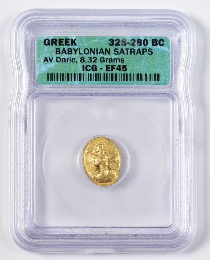 Lot 441: Babylonian Satraps AV Daric, Babylon Mint