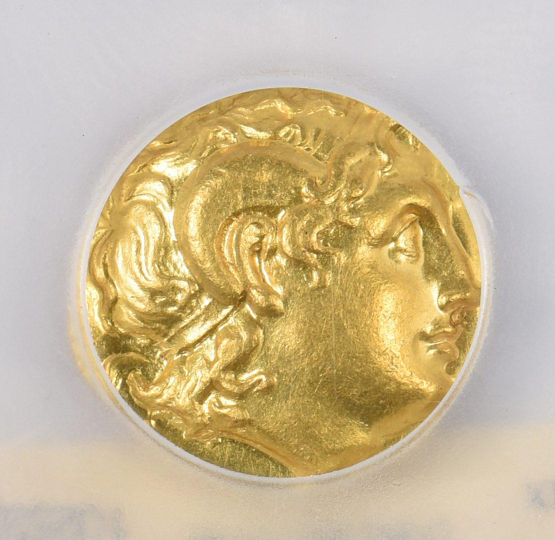 Lot 442: Lysimachos AV Stater, Thracian Mint