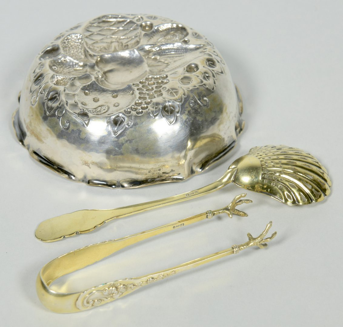 Lot 44: Continental Silver Berry Set