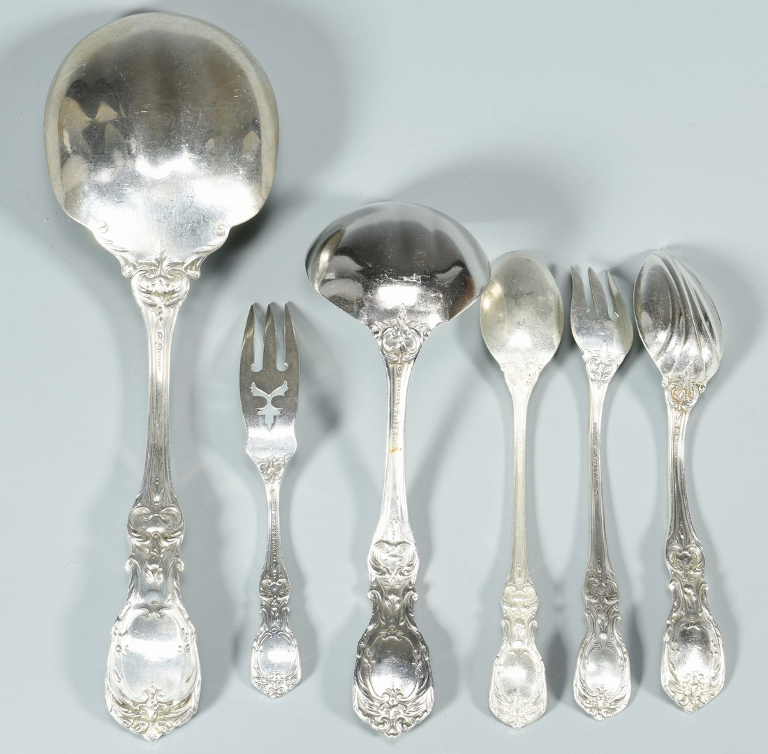 Lot 451: Reed and Barton Sterling Francis I Flatware