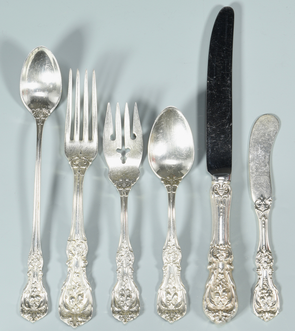 Lot 451 Reed And Barton Sterling Francis I Flatware