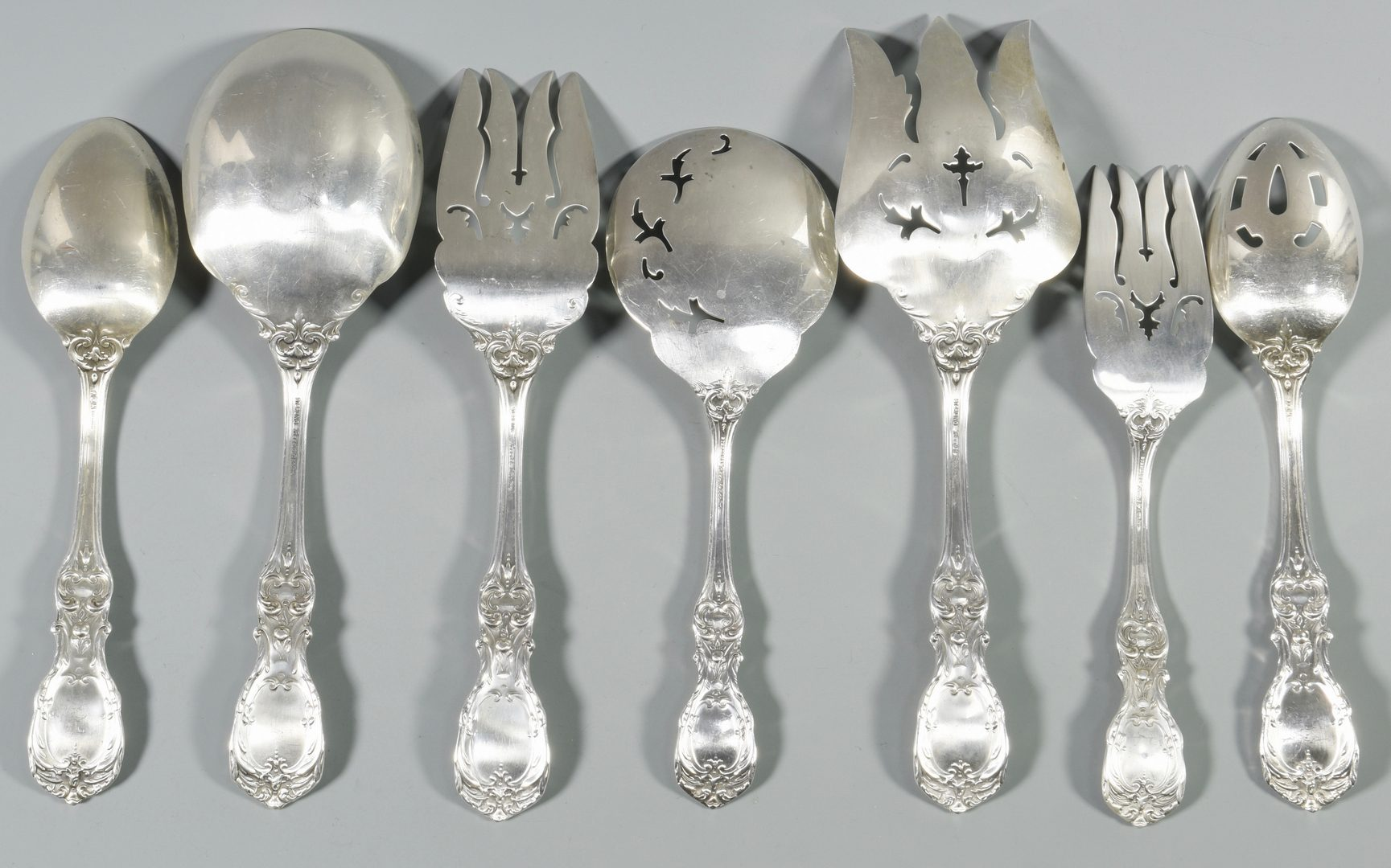 Lot 458: Francis I Sterling Flatware incl. serving pieces