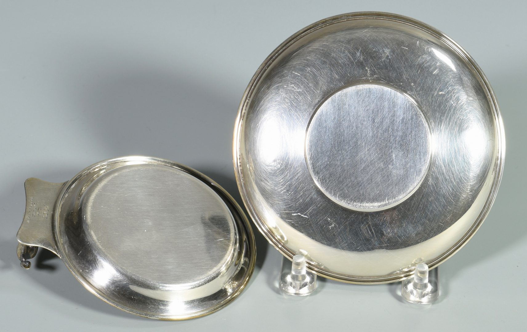 Lot 461: 5 Sterling Horse Related Items inc. Jewel box