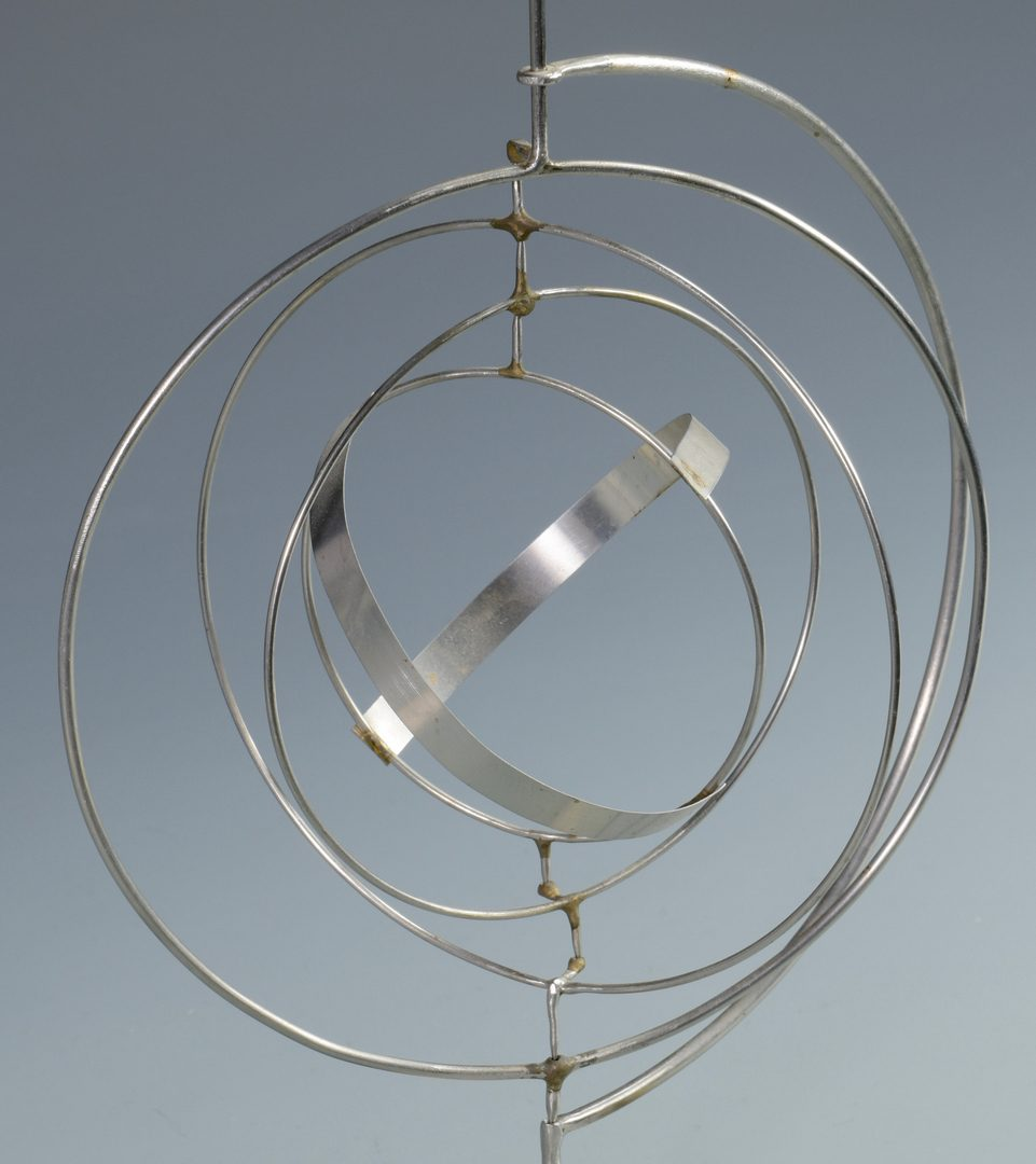 Lot 464: George Rickey Kinetic Sculpture, Space Churn