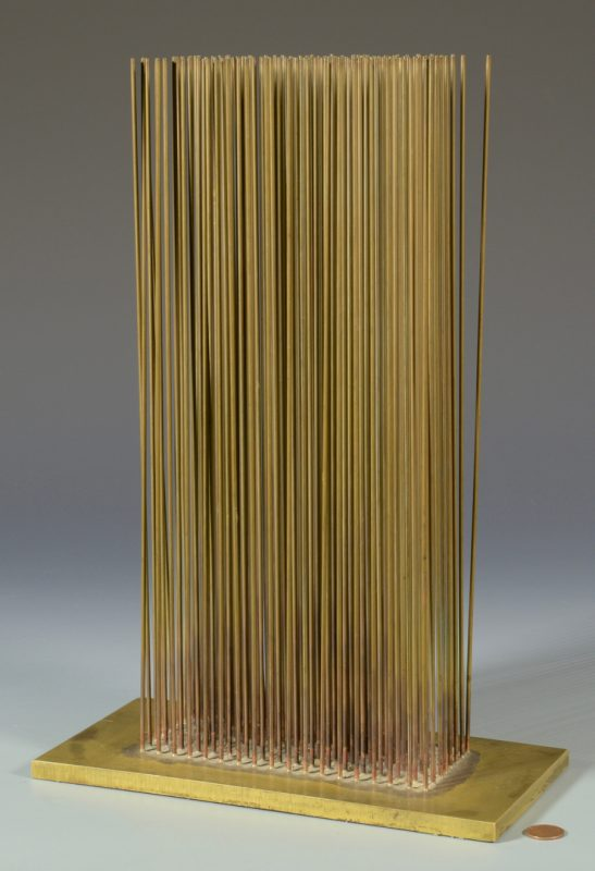 Lot 465:  Harry Bertoia Tabletop Sound Sculpture