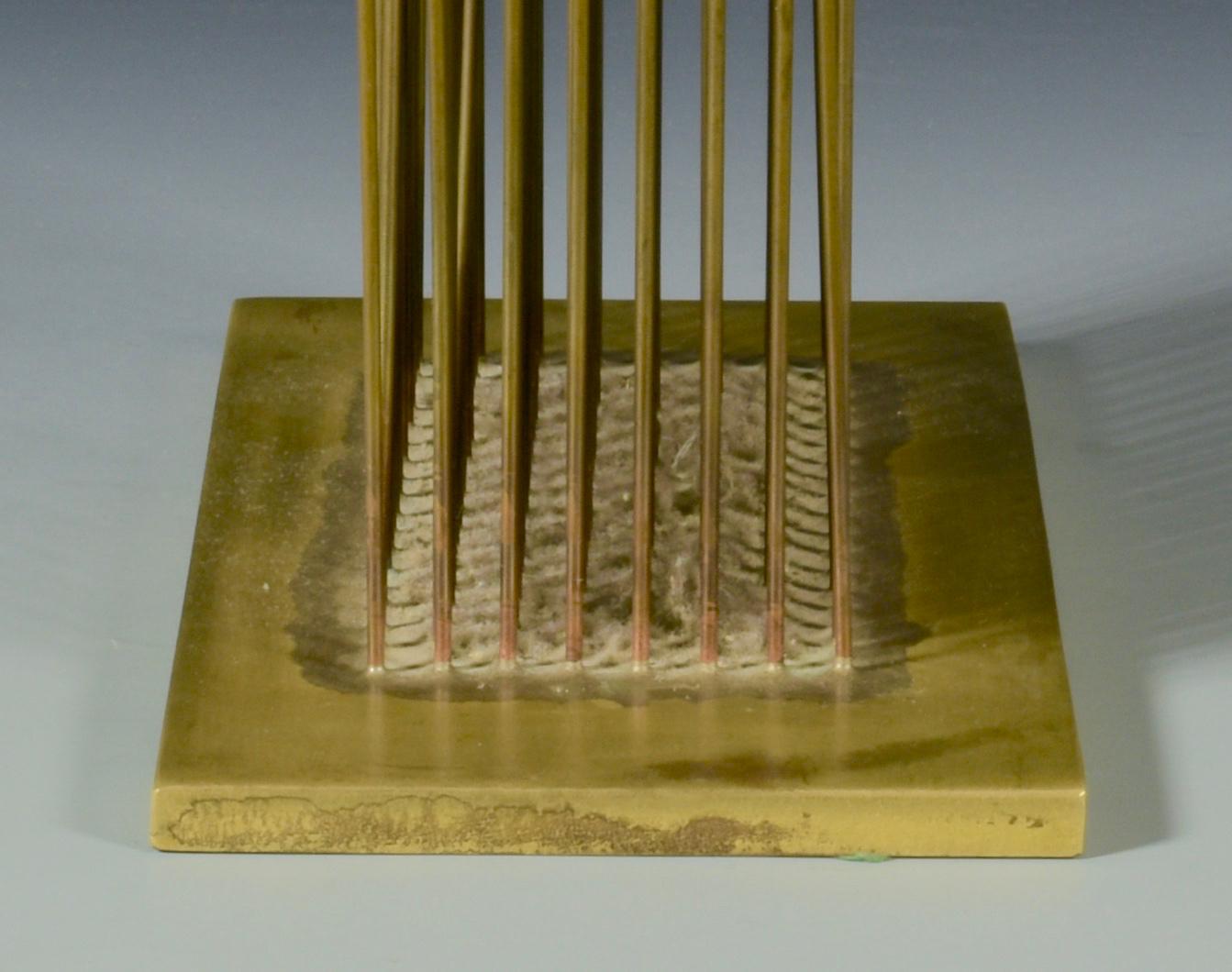Lot 465:  Harry Bertoia Tabletop Sound Sculpture