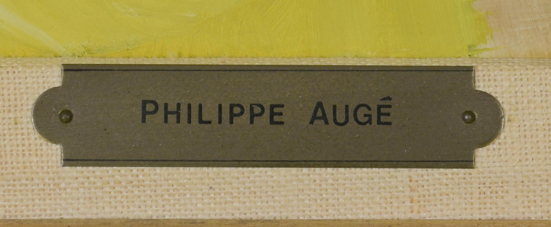 Lot 466: Philippe Auge o/c, Le Rideau