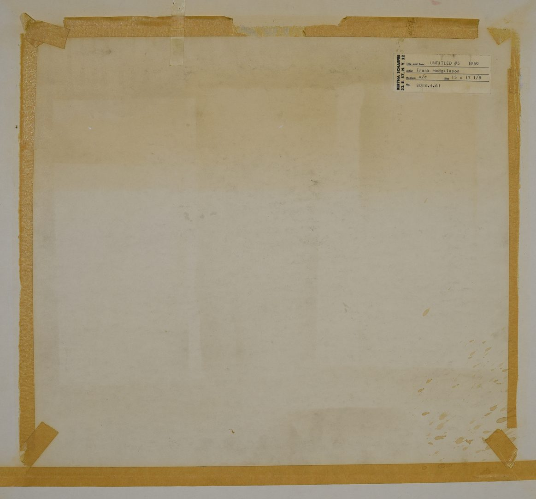 Lot 470: 2 Frank Hodgkinson Works on Paper