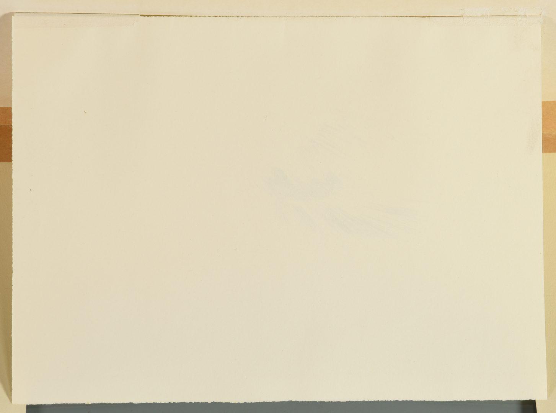 Lot 473: Fernando Zobel Ink Drawing