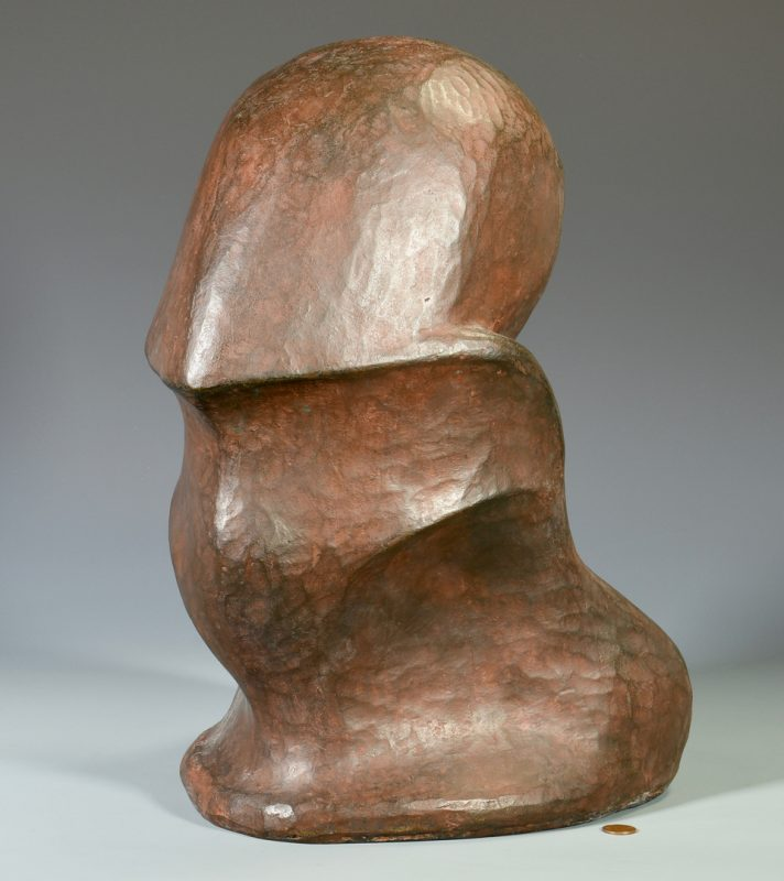 Lot 474: Gabriella Crespi Abstract Bronze Sculpture