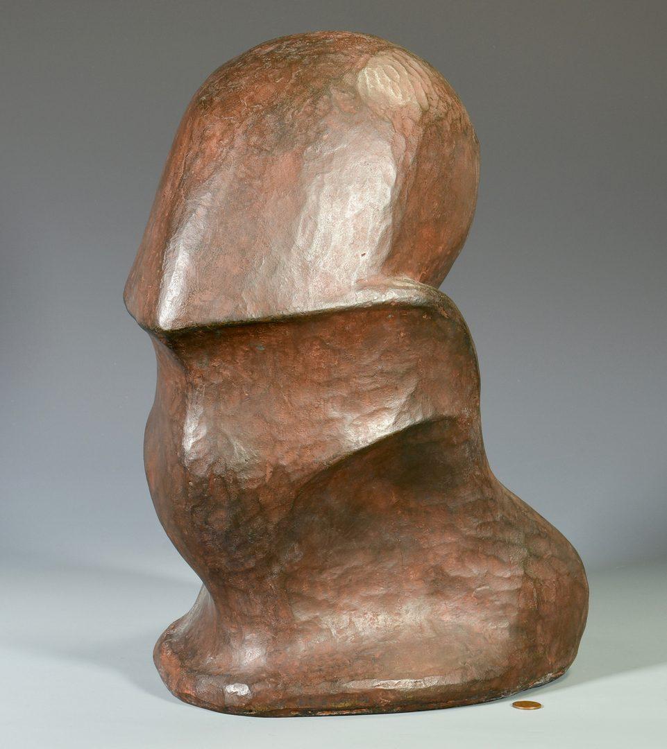 Lot 474: Gabriella Crespi Abstract Bronze Sculpture