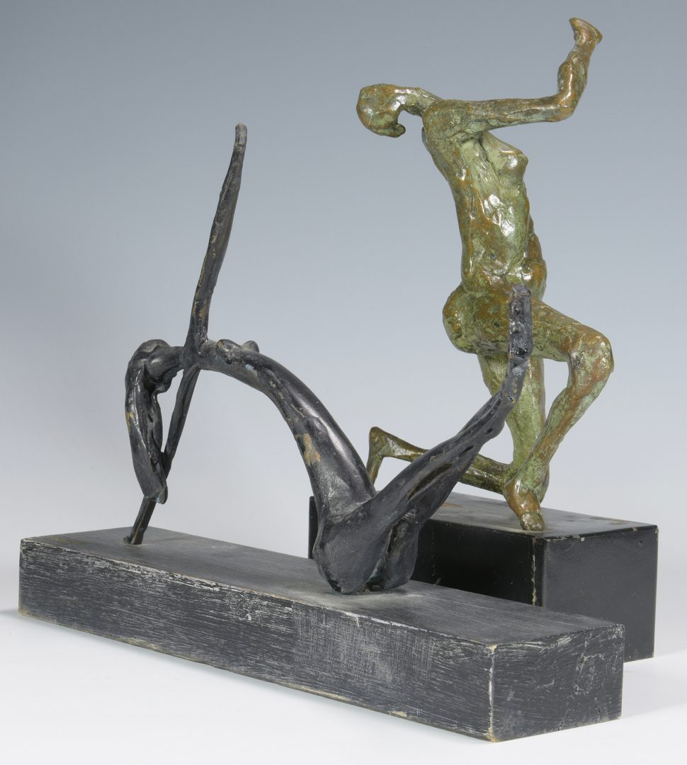 Lot 479: 5 Sculptures, Manner of Giacometti