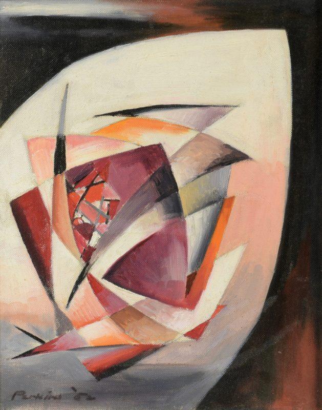 Lot 480: Philip Perkins O/B Abstract