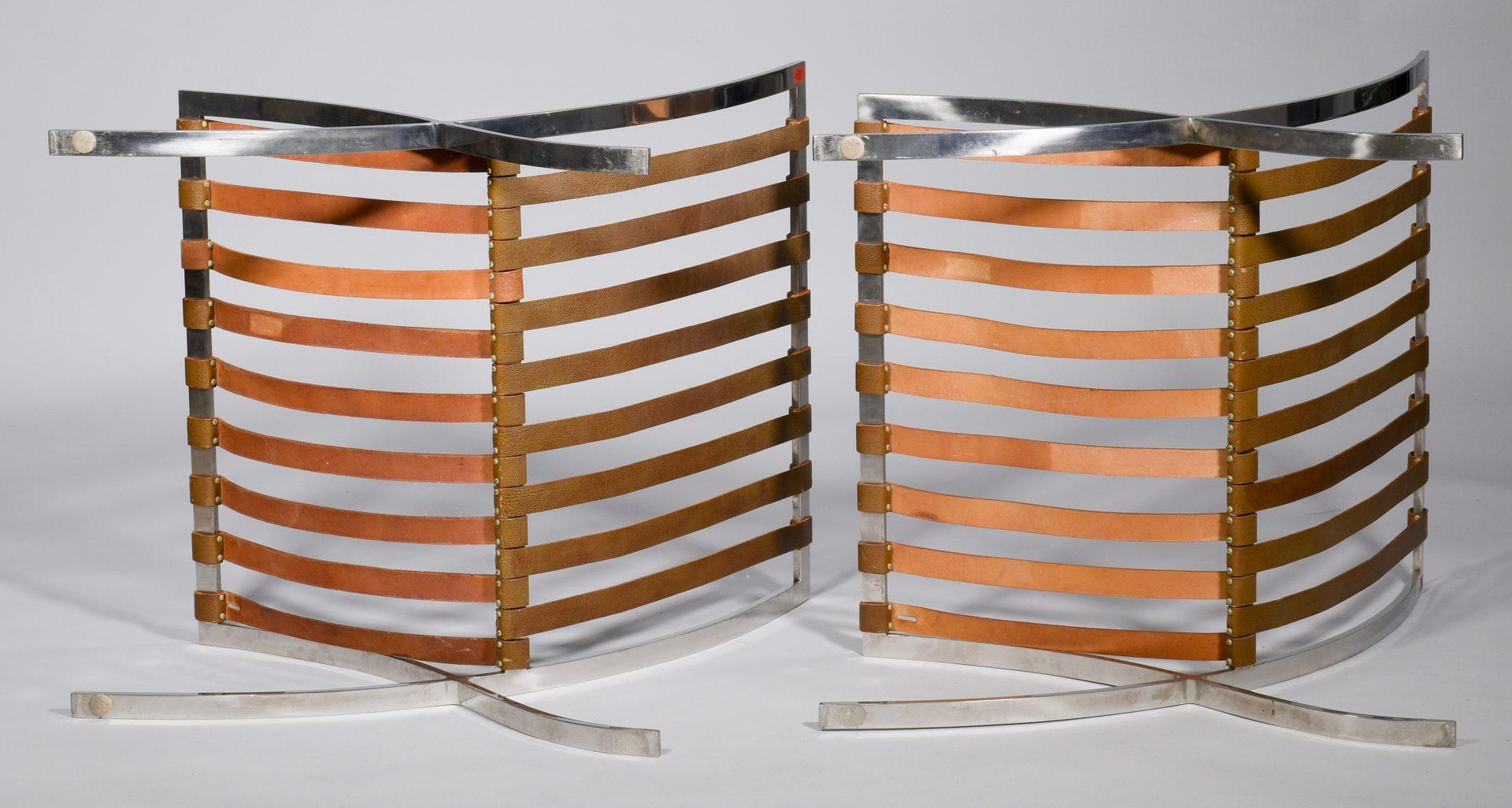 Lot 485: Pr. Mies Van Der Rohe Knoll Chairs