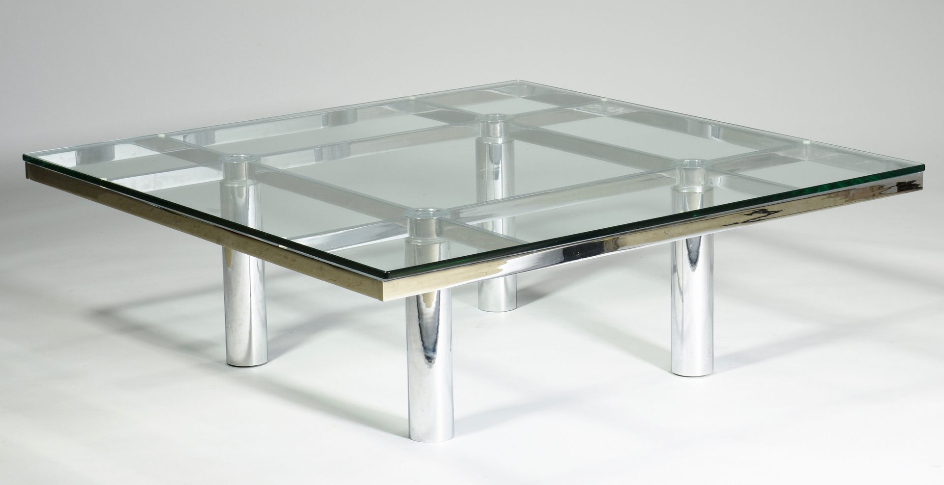 lot  tobia scarpa for knoll coffee table -