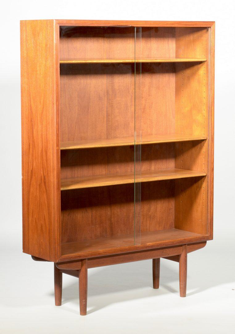 Lot 492: Mid-Century Modern Bookcase attr. Arne Vodder