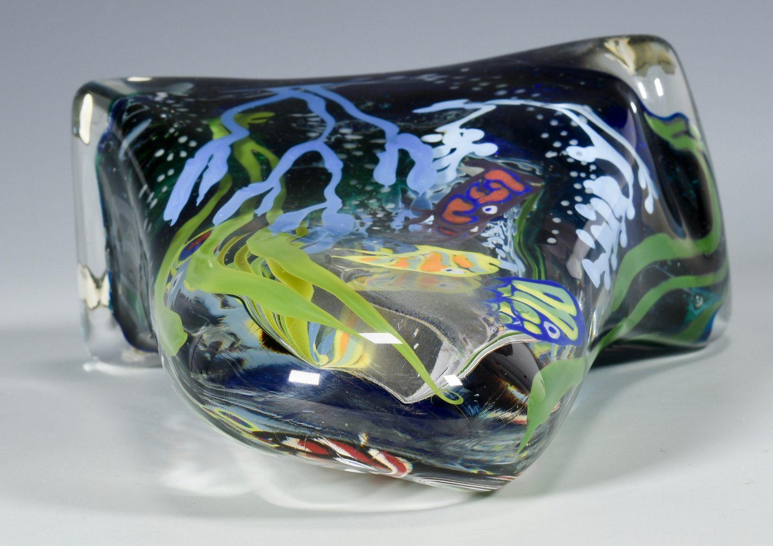 Lot 498: Richard Jolley Glass Fish Sculpture