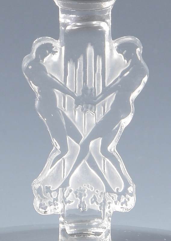 Lot 500: 12 Lalique Art Deco Goblets