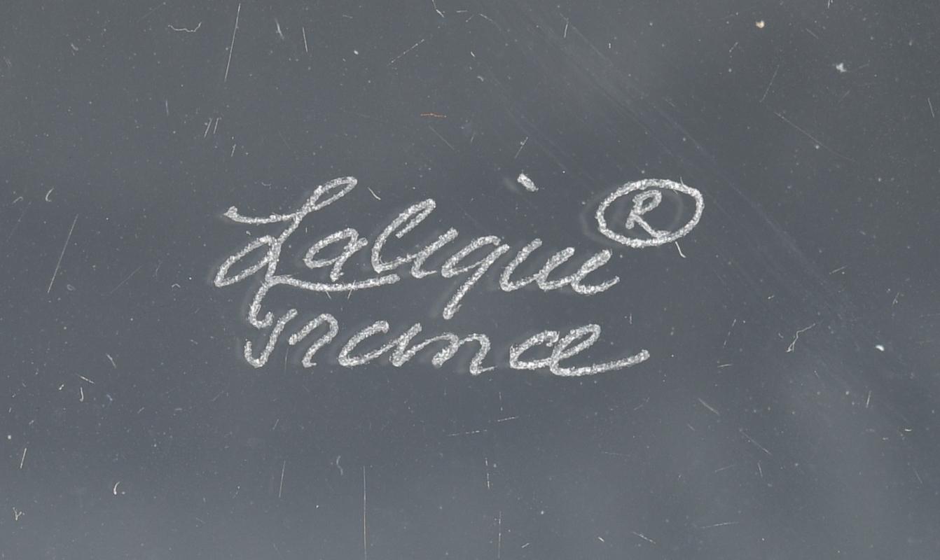 Lot 506: Lalique Vase & Marguerite Bowl