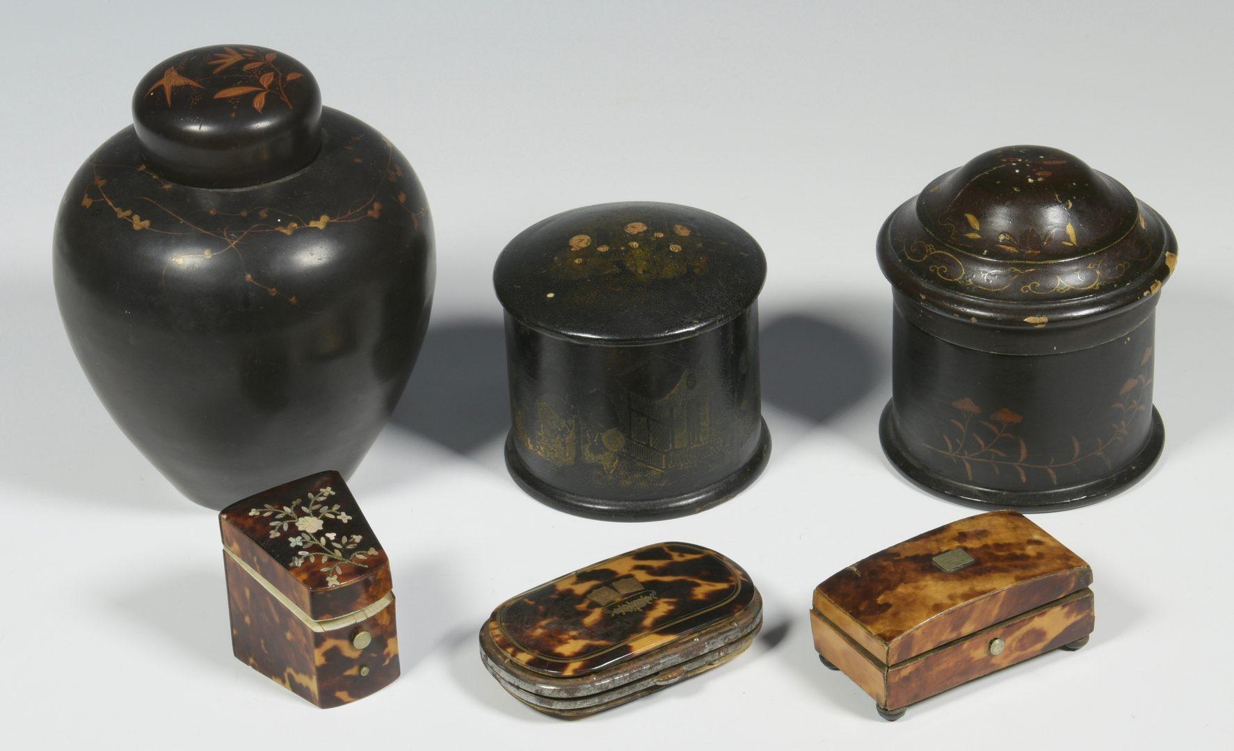Lot 514: 9 Assorted Boxes plus Daguerreotype