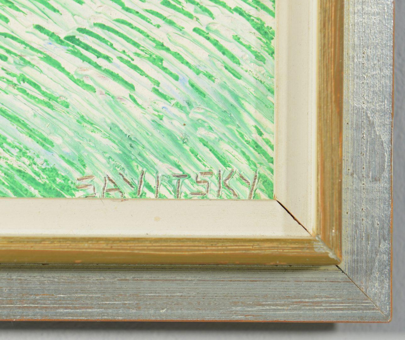Lot 524: Jack Savitsky O/B landscape