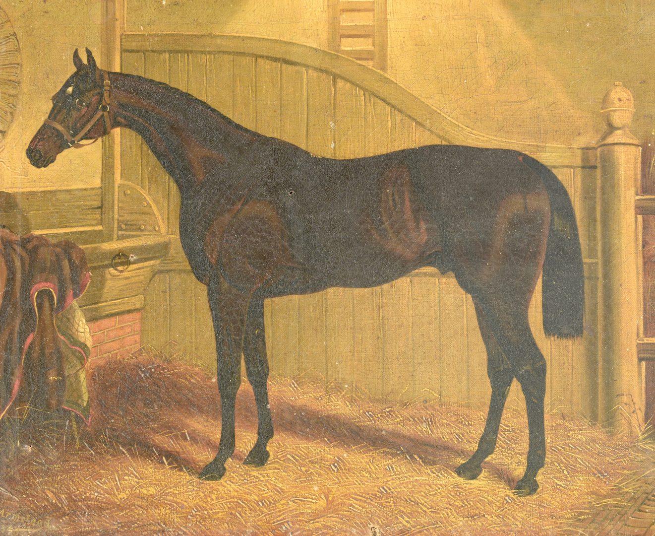 Lot 526: H.H. Armstead, Portrait of a Horse