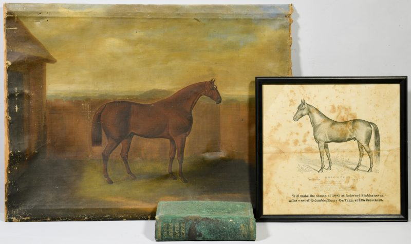 Lot 532: Sam Spode O/C, Polk-Yeatman Horse Archive