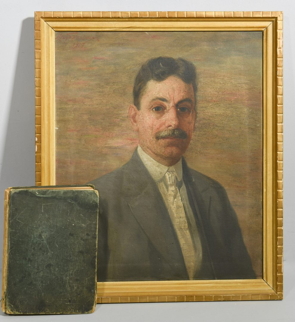 Lot 538: Lloyd Freeman, East TN O/C Portrait