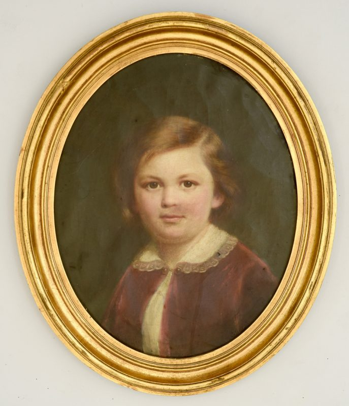 Lot 540: Portrait of George Dury's Son