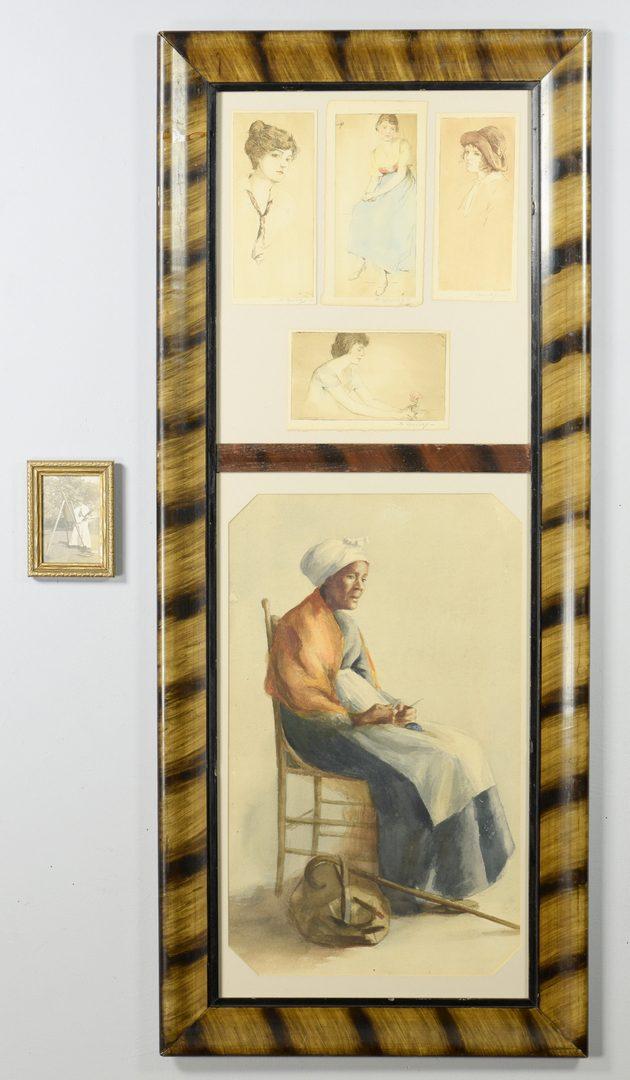 Lot 541: Sue Weakley, African American portrait