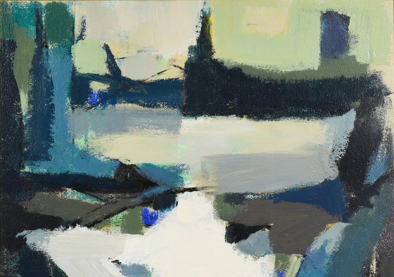 Lot 543: George Cress TN Cubist Oil