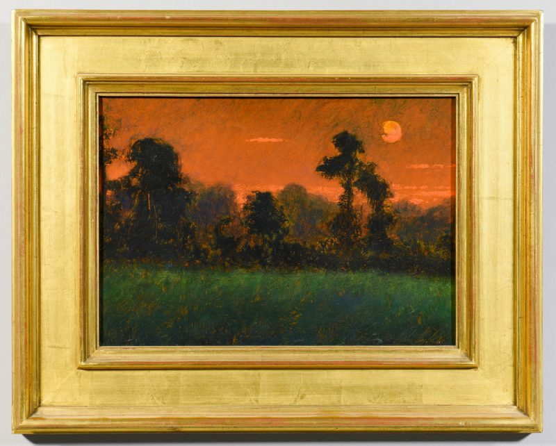 Lot 545: Stephen Chesley, SC, O/B Night Landscape