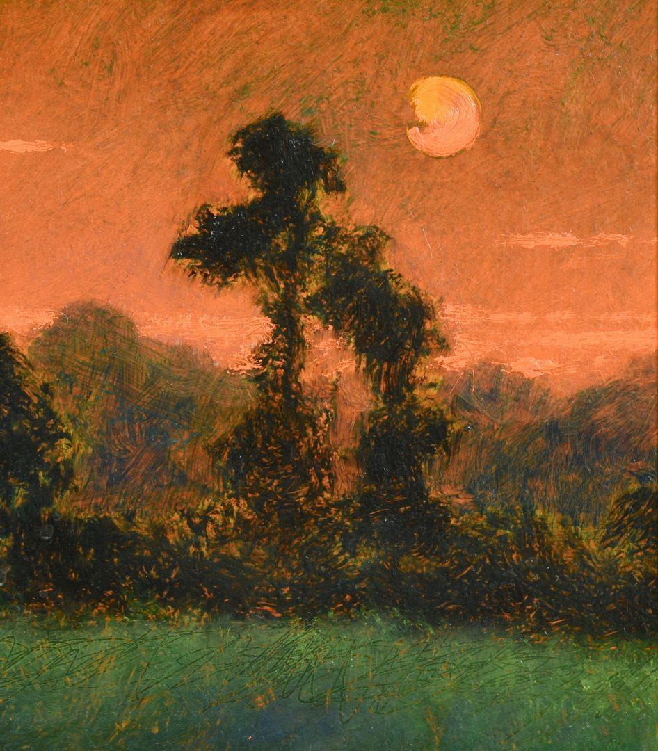 Lot 545: Stephen Chesley, SC, O/B Night Landscape