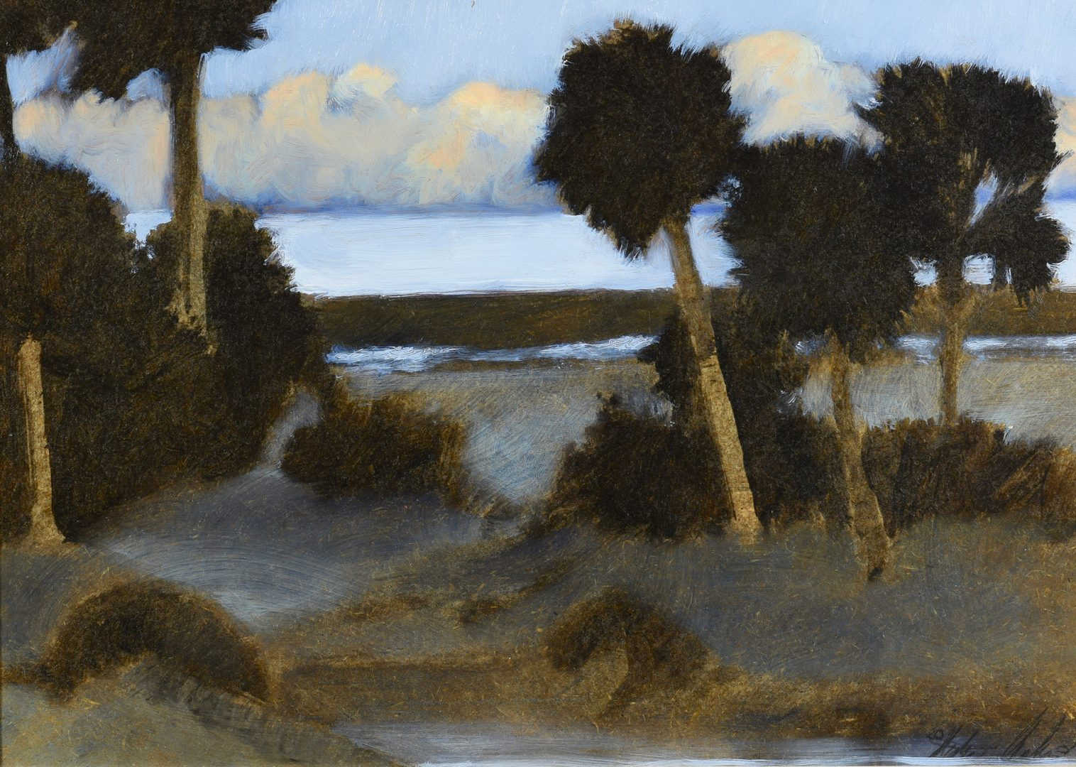 Lot 546: Stephen Chesley, SC, O/B Waterscape
